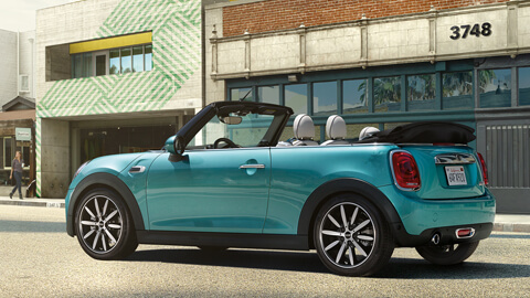 The New Mini Cabrio